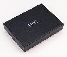 Удобный кредитный держатель для карт, высокое качество, нержавеющая сталь, RFID Блокировка, тонкие кошельки, металлический чехол, держатель д...(Китай)
