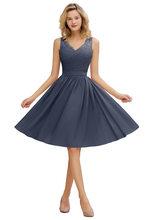 Длинные вечерние платья в стиле знаменитостей Dusty Rose, кружевные короткие вечерние платья, robe de soiree, женское платье(Китай)