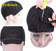 1 шт., супер эластичные накладки для плетения парика, черного цвета(Китай)