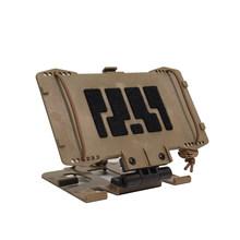 Тактическое оборудование Универсальная панель для телефона информационный щит-черный(Китай)