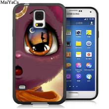 Мягкие резиновые чехлы для телефонов MaiYaCa Luna Cat Sailor Moon с принтом для samsung Galaxy S5 S6 S7 edge S8 S9 S10 Plus Lite Note 9 5 8(Китай)