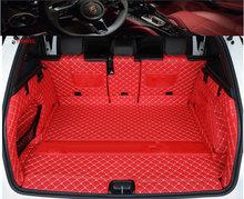 Автомобильный Стайлинг для Audi Q5 Q5L 2018 2019 автомобильный коврик для ботинок задний багажник лайнер грузовой пол ковёр лоток протектор Аксессу...(Китай)