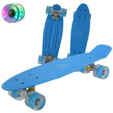 22-дюймовый мини-скейтборд, детский скутер, Лонгборд, скейтборд, ретро-скейтборд, подшипники для колес, грузовиков(Китай)