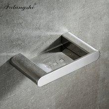 Falangshi 304 высококачественная Полированная Полка для полотенец из нержавеющей стали, держатель рулона туалетной бумаги, стеклянная полка, нас...(Китай)