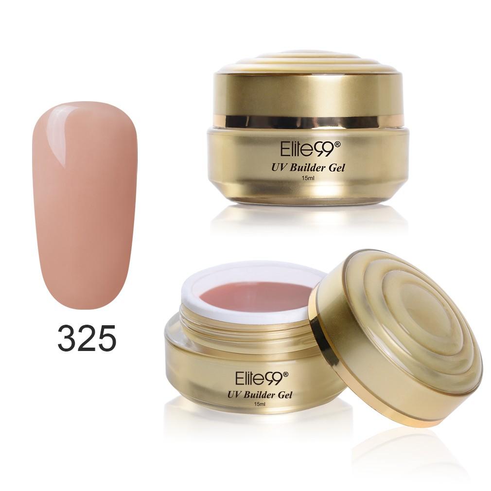 Elite99, 15 мл, УФ-гель для наращивания, прозрачный, телесного цвета, для ногтей, УФ-гель для наращивания, для ногтей, камуфляж, УФ-гель для ногтей(Китай)