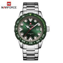 NAVIFORCE мужские часы, новый топ бренд, роскошные спортивные часы с хронографом, военные армейские наручные часы, деловые кварцевые часы, мужск...(Китай)
