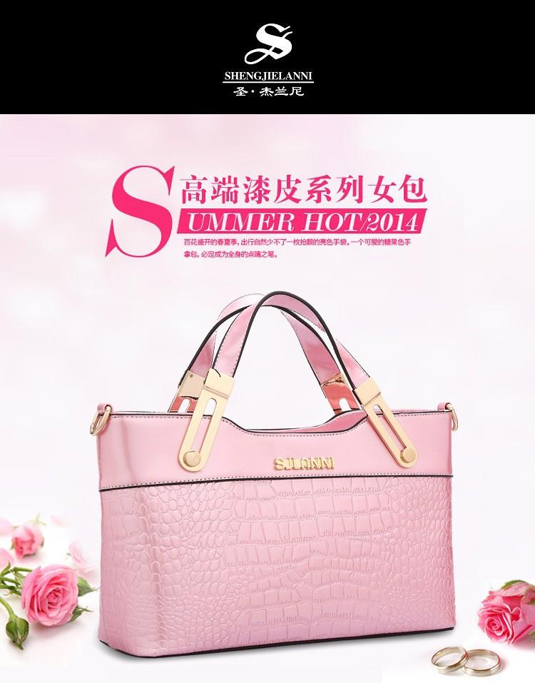 Totes Handbags New Bolsas Crossbody High Women's Genuine Bags Quality Elegant Women Shoulder Patent Leather Vintage Nn08wyvOm