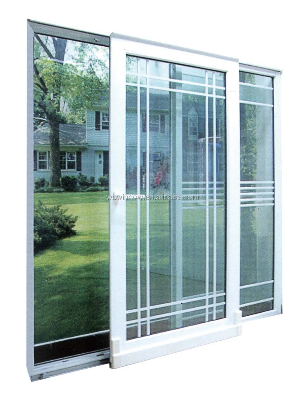 Energy Star Double Triple Insulating Glass Pvc Upvc