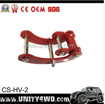 comfort shackle with double 4x4 off road shackle for hulix. Black Bedroom Furniture Sets. Home Design Ideas