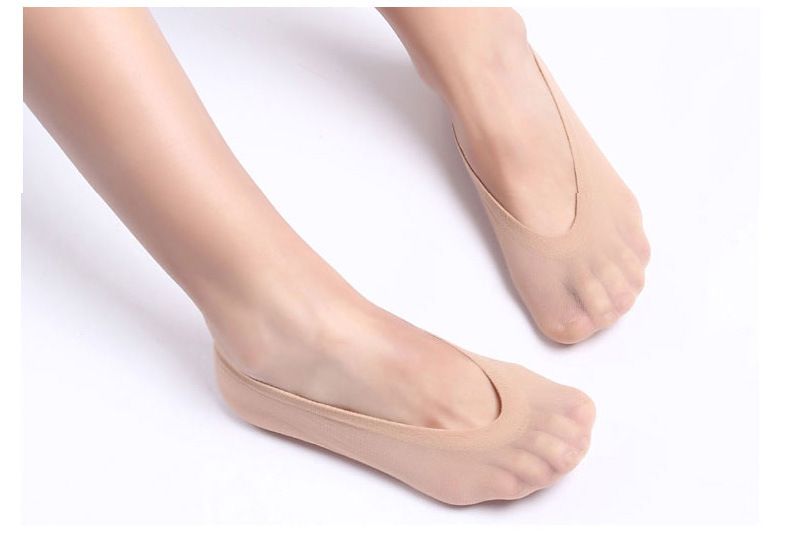 Wholesale Women Invisible NO Show Cool Loafer Boat Footie Peds High ... dc9cf91ba1
