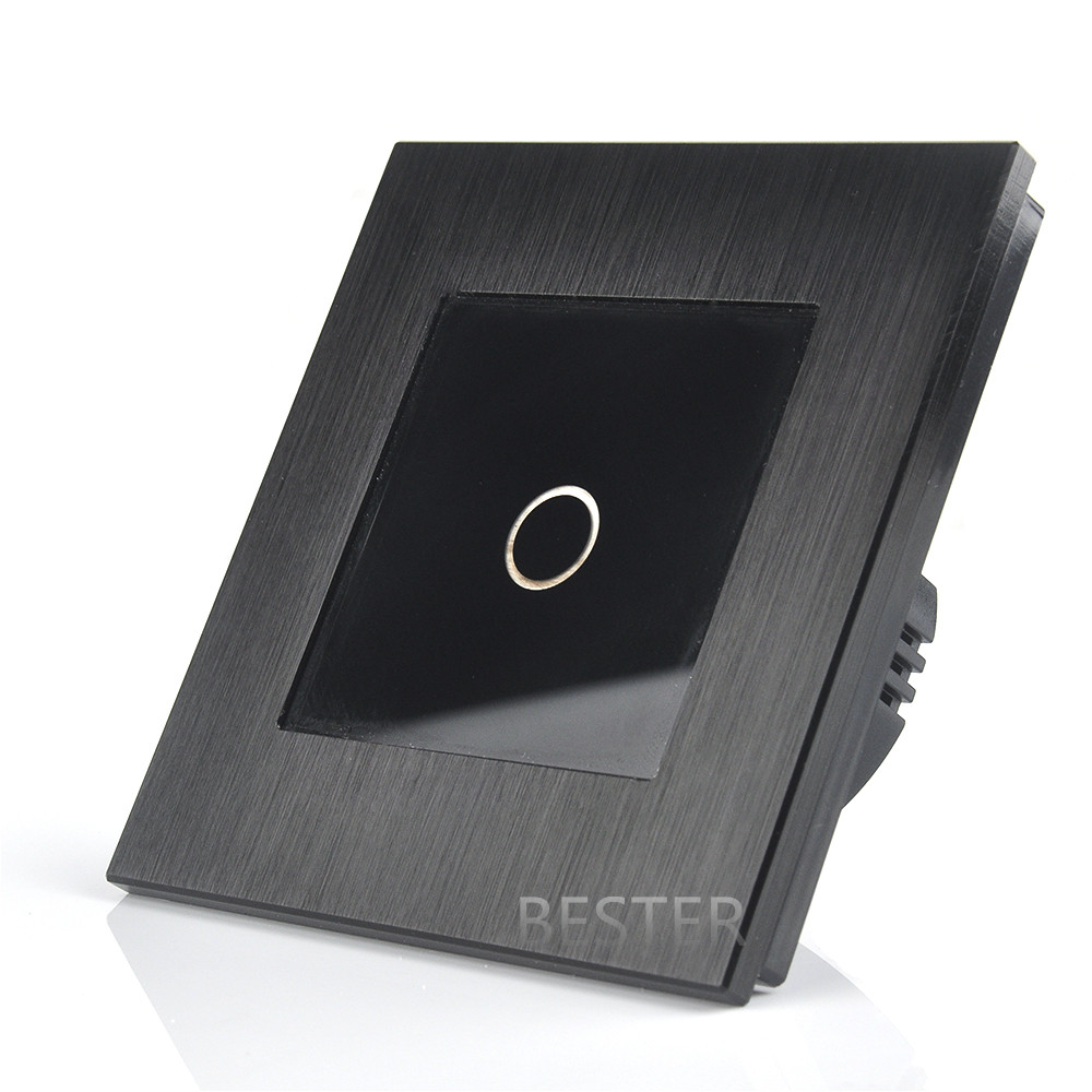 Crystal Glass Touch Led Dimmer Switch With Touch Sensor