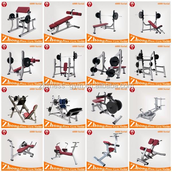 Gym Gym Equipment Names