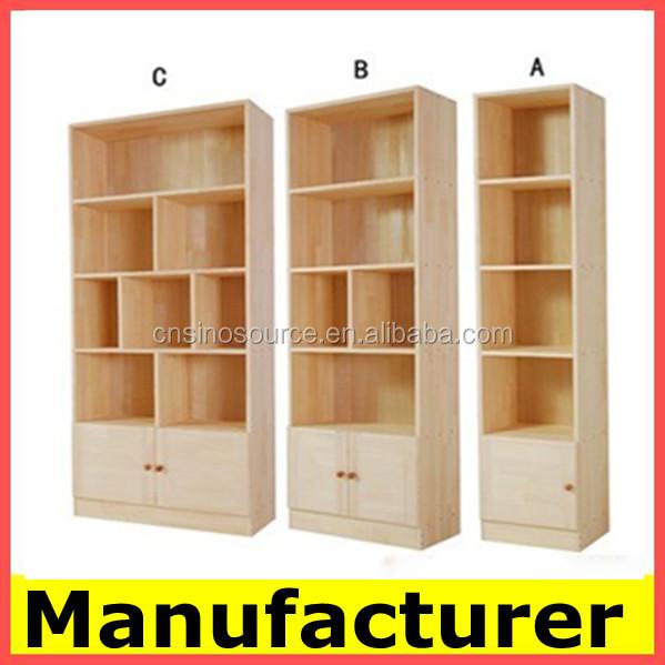 el diseo moderno de madera se utiliza biblioteca del gabinete estante