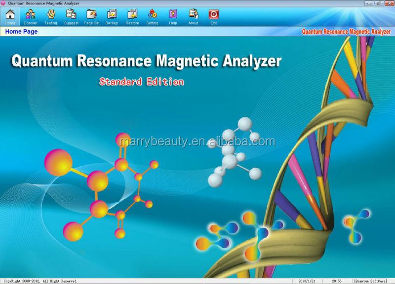 Màn hình cảm ứng 2014 thử nghiệm không có tay cầm tay phân tích cơ quantum resonance từ hệ mới nhất