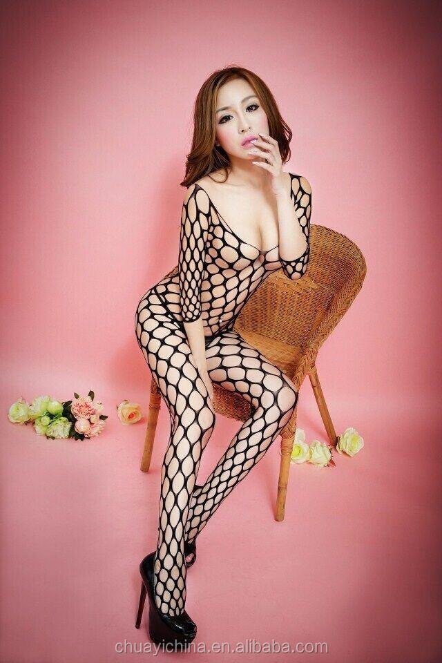 Sexy fishnet girls