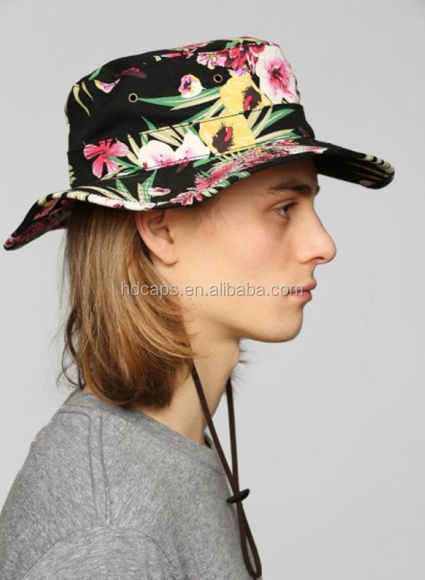 Floral bucket hats with string 990647 - terrasource.info b20f4e945a3