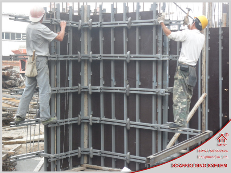 Construction Metal Formwork For Concrete Walls View Metal