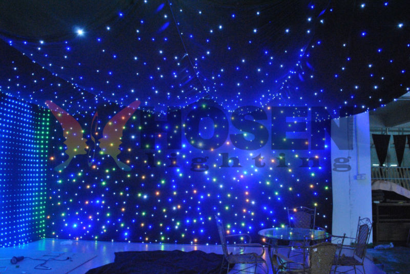 Colorful Led Star Curtain Stage Wall Light Hs E25 Buy