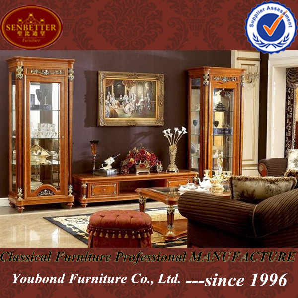 German Luxury House: 0029 High Quality Luxury Wooden Living Room Furniture