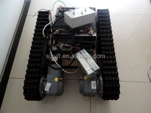 High Technical Robot Rubber Track System Assembly Climbing