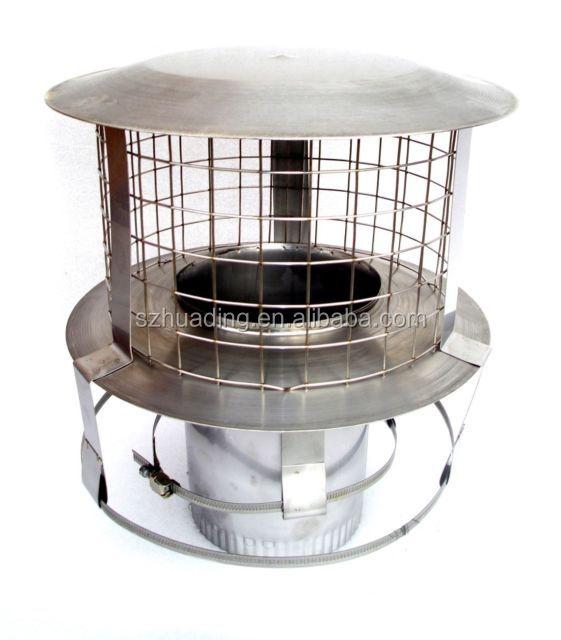 ce chapeau pare pluie en acier inox pour chemin e d 39 argile tuyaux en acier inoxydable id de. Black Bedroom Furniture Sets. Home Design Ideas