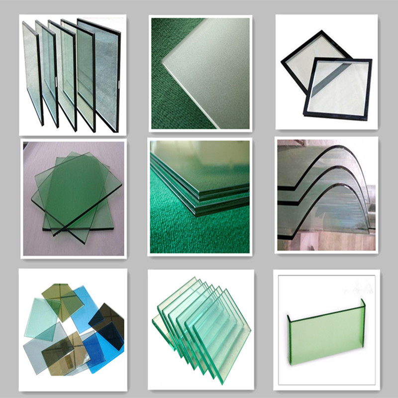 glass window champagne color aluminum sliding window for
