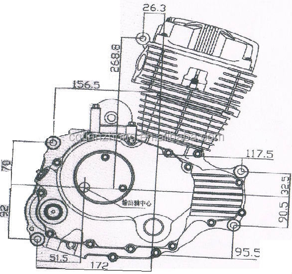 Motorcycle Engine Drawings