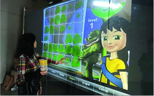 Low cost sale 17 inch 16 9 format Interactive touch foil Transparent no frame durable and