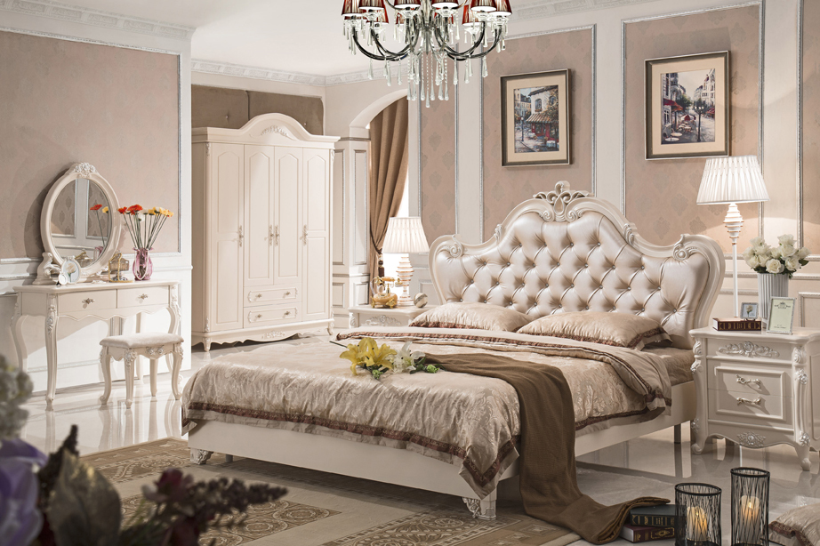 French Style Bedroom Set: Antique Style French Furniture Elegant Bedroom Sets Py