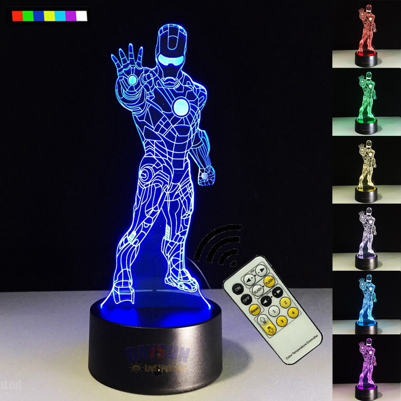 online kaufen gro handel lampe iron man aus china lampe iron man gro h ndler. Black Bedroom Furniture Sets. Home Design Ideas