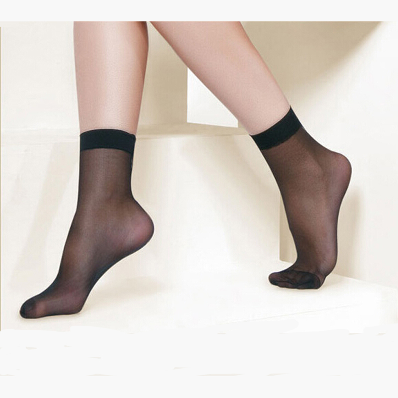 Sexy nylon socks