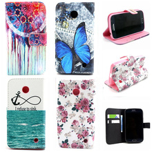 New Luxury Delux Fashion PU Leather Phone Case Flip Cover For Nokia Lumia 630 N630 Wallet Stand Cases With Card Holder