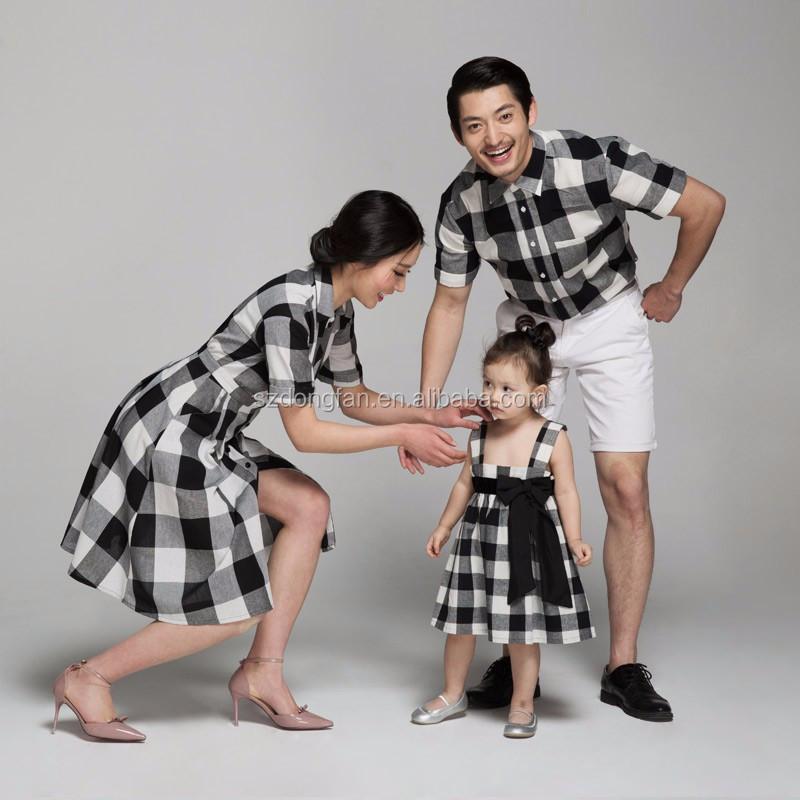 la famille des v tements correspondant m re et fille robes correspondant p re et fils v tements. Black Bedroom Furniture Sets. Home Design Ideas