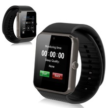 2016 New product bluetooth GT 08 smart watch android gps smart watch with sim card slot , bluetooth, camera