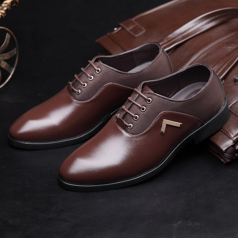 Thick Soled Mens Dress Shoes
