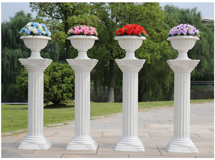 "Decorative Pillars For Homes: 35""/89cm Height Wedding Party Celebration Decoration Roman"