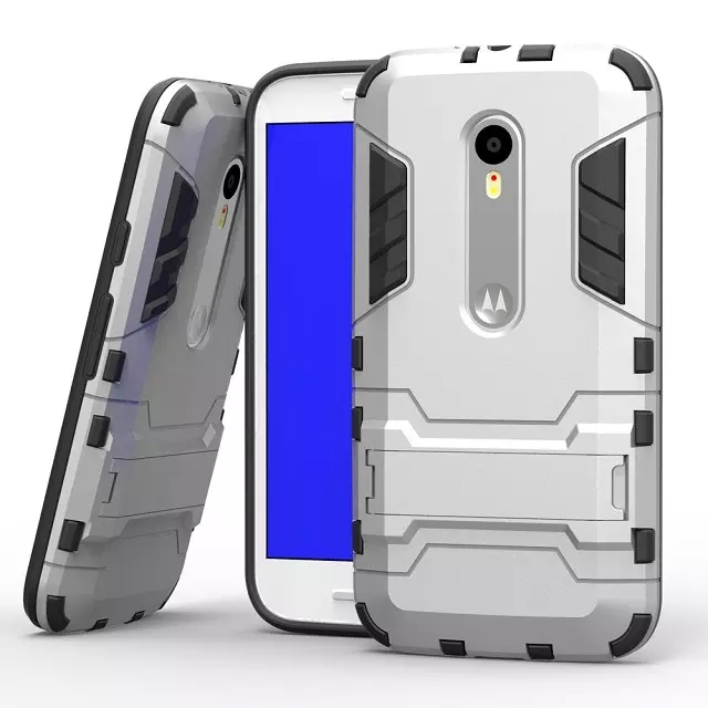High Quality For Motorola Moto G3 Gen 2015 XT1552 PC TPU 2 in 1 Cool Armor