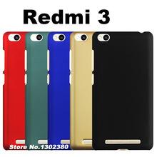 xiaomi redmi 3 prime case cover plastic Fingerprint proof case xiami xiomi redmi 3 fdd case cover Scratchproof redmi3 phone case