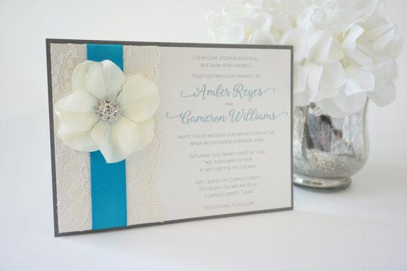 Wedding Invitations Turquoise: Online Get Cheap Turquoise Wedding Invitations -Aliexpress
