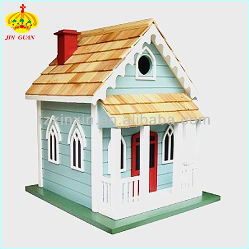 des maisons d 39 oiseaux en bois d coratifs color maison d. Black Bedroom Furniture Sets. Home Design Ideas