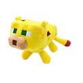 24cm Minecraft Plush Toys Yellow Minecraft Ocelot Stuffed Cat Animal Plush Toys Dolls Game Cartoon Kids