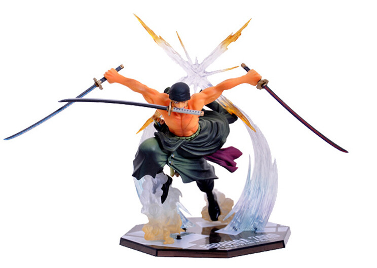 Japanese Amine One Piece Roronoa Zoro Banpresto 17cm PVC Action Figure Toys Model
