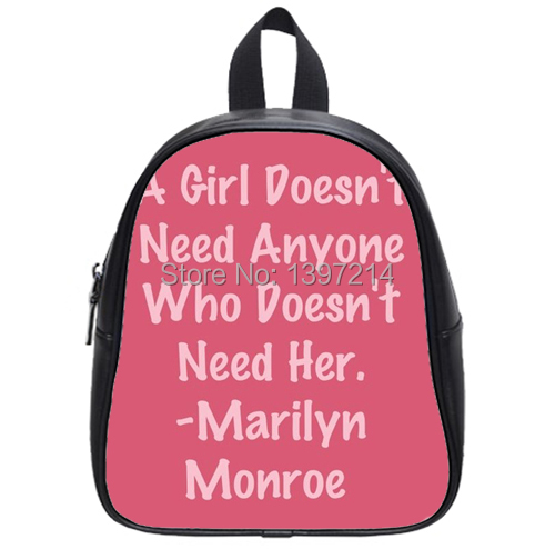 Fashion Quotes Kid's School Bag Backpack Amazing Quality