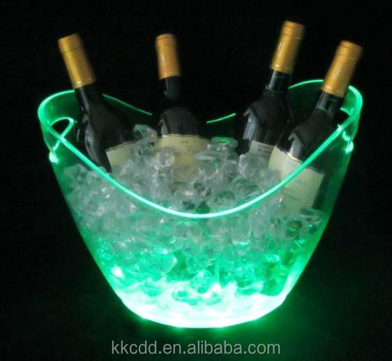 ユニークなプラスチック製のledが点灯してワインのアイスバケット問屋・仕入れ・卸・卸売り