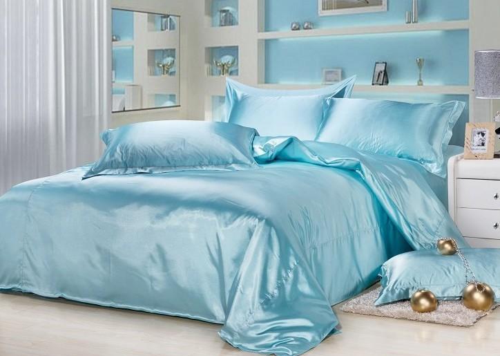 Online Buy Wholesale Aqua Satin Sheets From China Aqua