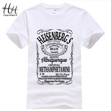 Breaking Bad T Shirt Men Hermanos T-Shirt Man Walter White Cook Tops Heisenberg Men Tops Tees Fairy Tail TA0306