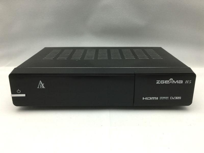 Original Zgemma H5 Enigma 2 Linux Dual Core DVB S/S2 + HYBRID DVB C/T/T2  Tuner Satellite Receiver H 265 HEVC Set Top Box Laser Projectors Movie