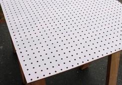 m lamine face panneau d coratif panneau perfor mdf pegboard panneaux en fibres id de produit. Black Bedroom Furniture Sets. Home Design Ideas
