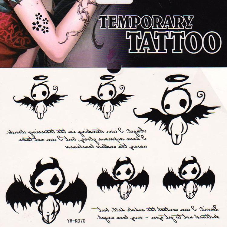 hoge kwaliteit kleine engel tattoo promotie winkel voor. Black Bedroom Furniture Sets. Home Design Ideas