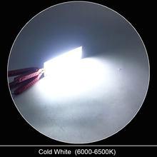 Светодиодная лампа, 12 в пост. Тока, 2 Вт-200 Вт, круглая, белая, красная, синяя, 12 В(Китай)